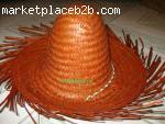 Palm leaf hats