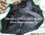 Long burning time lump charcoal