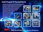 Customized cold forging fasteners
